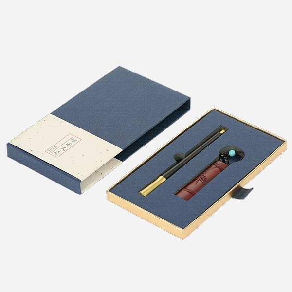定做紅木簽字筆創意禮品 定制胸有成竹簽字筆U盤商務禮品套裝
