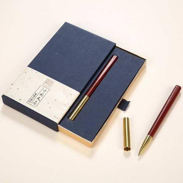 超然簽字筆 紅木簽字筆 創意紅木商務禮品定制