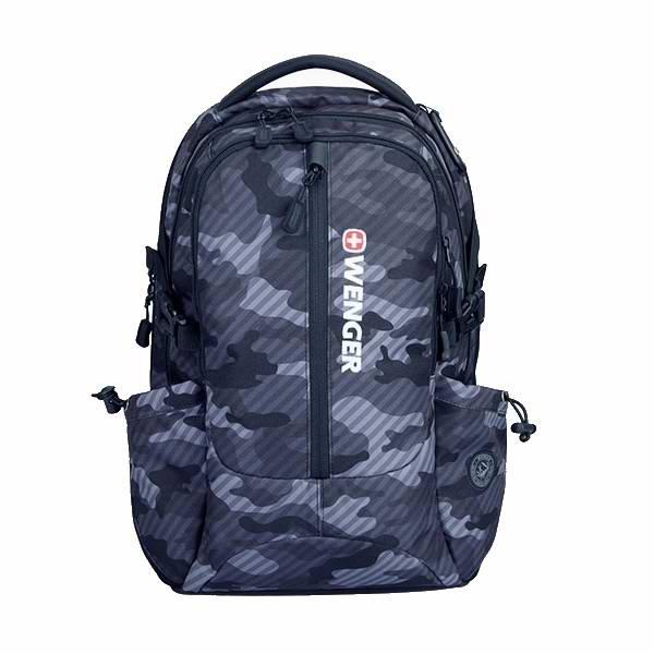 威戈双肩包电脑包背包迷彩灰 企业员工福利成都礼品团购