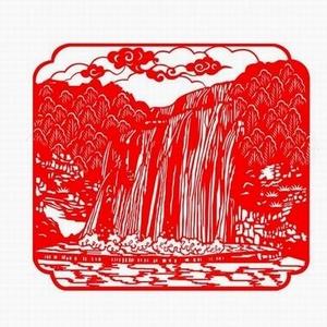 手工剪纸 风景剪纸艺术欣赏 手工定制特色剪纸旅游纪念品