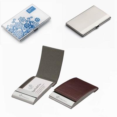 定做名片盒 成都定制广告金属名片夹 创意商务名片盒定制logo